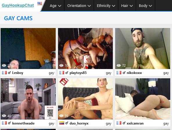 Gay Hookup Chat
